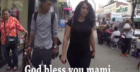 Assédio sexual nas ruas de Nova Iorque