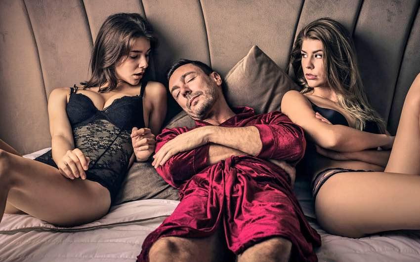 casal para sexo a três